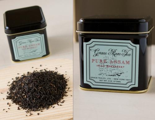"Grace Rare Tea's ""Pure Assam"" Irish Breakfast Tea"