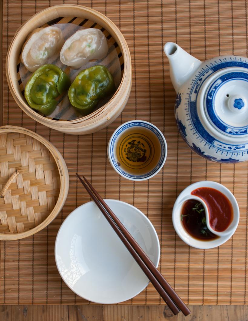 Steamed Shrimp & Mushroom Dumplings For Chinese New Year ...