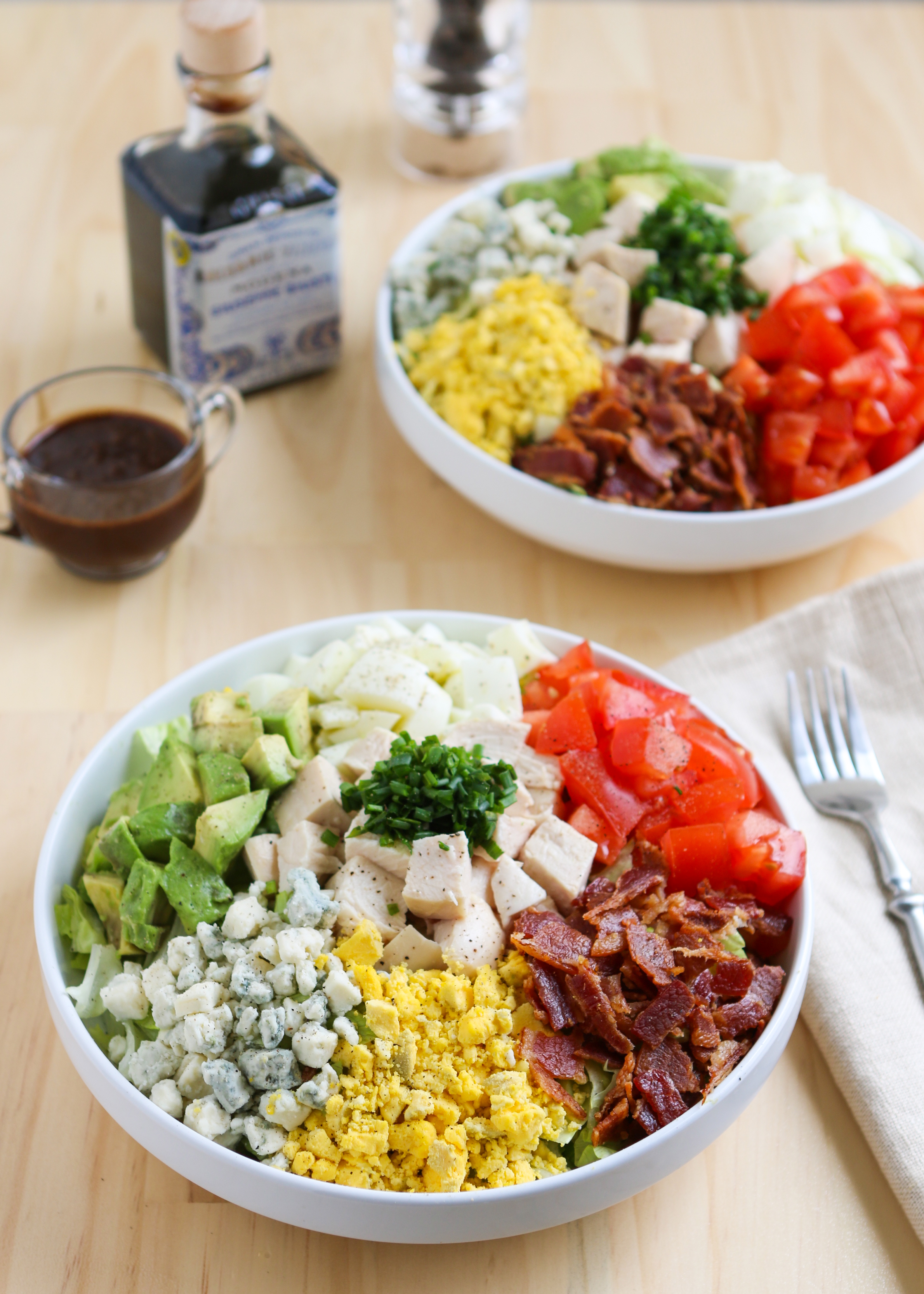 Smokey Chicken Cobb Salad | Thirsty for Tea
