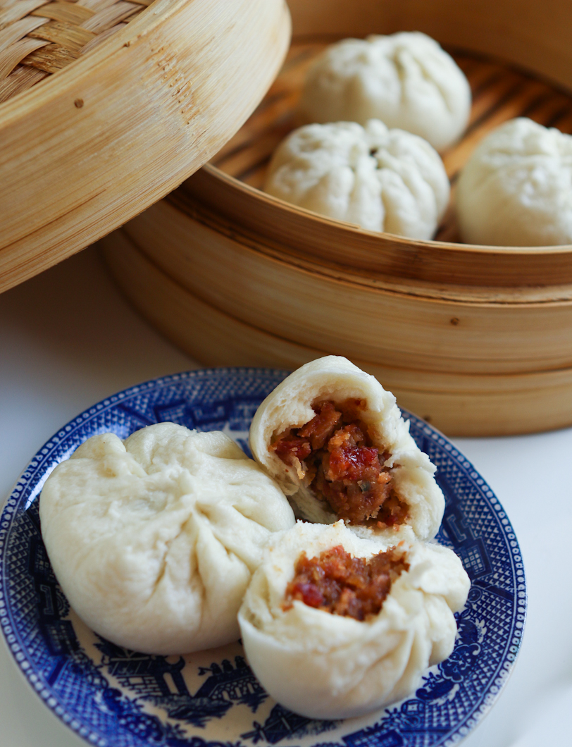 ... For Tea Dim Sum Recipe #8: Steamed BBQ Pork Buns (Char Siu Bao
