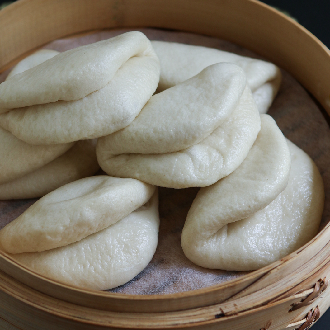 Chinese Fold-Over Buns | Thirsty for Tea