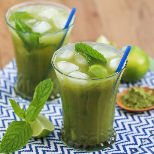 Matcha Mojitos | Thirsty for Tea