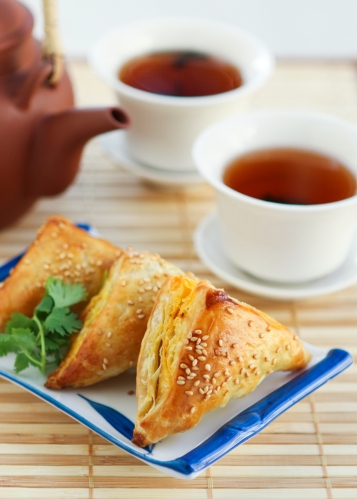 Dim Sum Recipe # 9:  Chicken Curry Puffs
