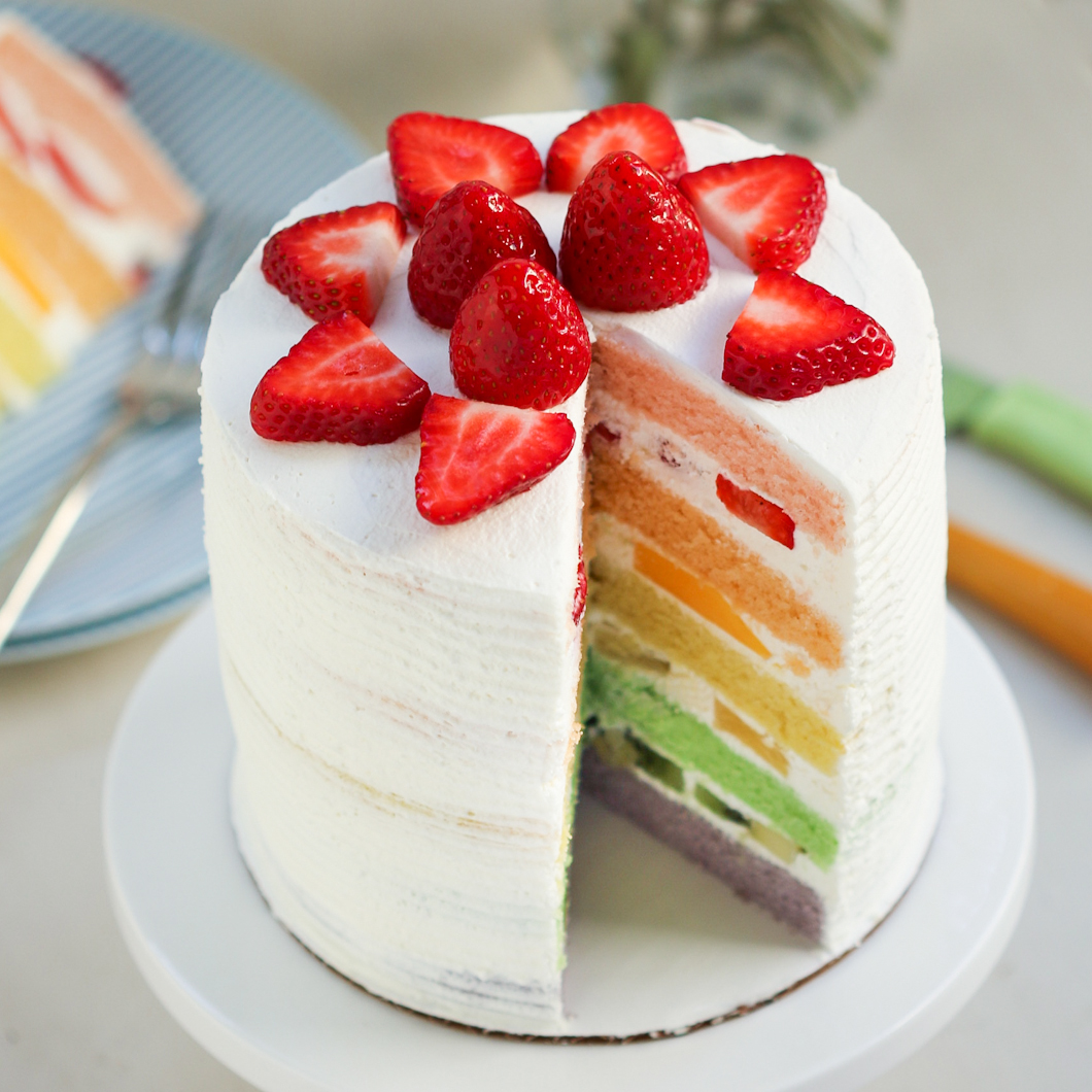 Asian Coconut Cream Cake