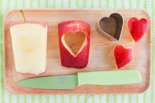 apple cake cutouts